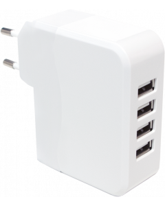 LOGILINK USB CHARGER 4-PORT 4900mA