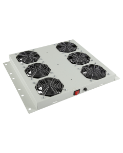 LOGON 6 FANS, ANALOG THERMOSTAT CONTROLLED FAN MODULE WHITE