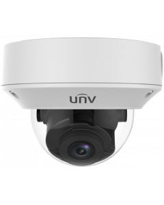 UNIVIEW 4 MEGAPIXEL 2.8-12MM MOTORIZED LENS OUTDOOR DOME IP CAMERA