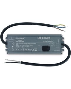 IP65 60W CONSTANT VOLTAGE LED DRIVER, 100-240VAC TO 12VDC, N