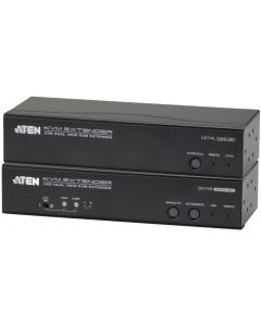 ATEN DUAL VIEW USB/VGA KVM EXTENDER, AUDIO + R232 TO 150M