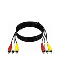 LOGILINK AUDIO/VIDEO CABLE 3xCINCH MALE TO 3xCINCH MALE 1,5M