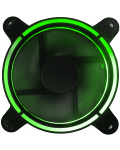 CTESPORTS HYPERON GAMING FAN WITH GREEN LIGHT-RING - 12CM