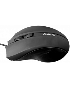 ALANTIK PALMGRIP MOUSE WITH 4 BUTTONS - BLACK