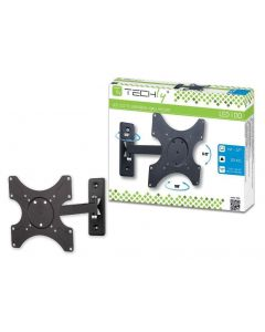 ONE WAY LED/LCD WALL MOUNT - BLACK