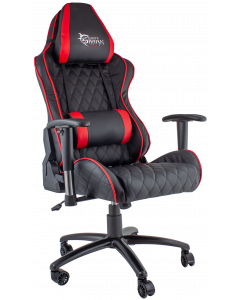 WHITE SHARK GAMING CHAIR PRO RACER - BLACK/RED
