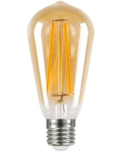 E27 - ST64 DECORATIVE FILAMENT LAMP, NOT DIMMABLE, 2,5W (= K