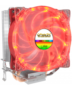 GAMMEC BORA CPU COOLER FOR INTEL & AMD - RED LED