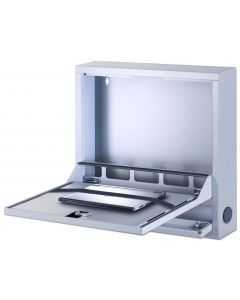 WALLMOUNT CABINET FOR LAPTOP 57 x 54 x 10,5 cm