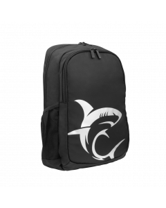 WHITE SHARK GAMING BACKPACK BLACK/SILVER GBP-006 SCOUT