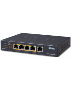 PLANET 1-PORT 60W ULTRA POE TO 4-PORT 802.3AF/AT EXTENDER