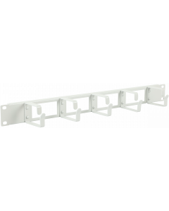 "LOGON 1U 19"" CABLE ORGANIZER PANEL WITH CABLE ENTRY HOLE"