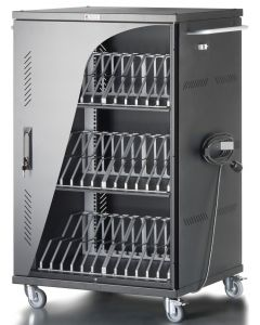 CHARGING STATION FOR 36 TABLETS/SMARTPHONE VENTED DOORS
