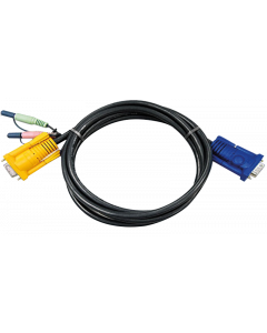 ATEN VIDEO KVM CABLE WITH AUDIO - 3M