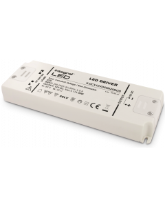 IP20 75W CONSTANT VOLTAGE LED DRIVER, 200-240VAC TO 24VDC, NON-DIMMABLE