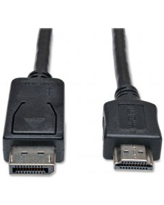 TECHLY DISPLAYPORT CABLE MALE TO HDMI MALE - 1M