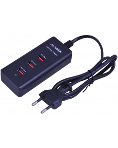 ALANTIK POWER CHARGER WITH 3 USB SLOTS 5V / 3A