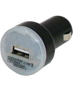 LOGON 1*5V USB CAR CHARGER - 1A