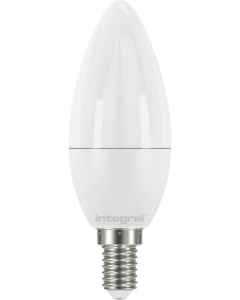 INTEGRAL CANDLE 7.5W (60W) 2700K 806LM E14 NON-DIMMABLE FROSTED