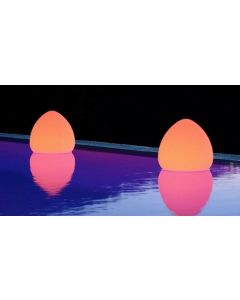 TECHLY OUTDOOR LED LAMP FURNITURE ROCK