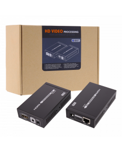 TECHLY 4K HDMI EXTENDER OVER CAT6A WITH IR - UP TO 100M