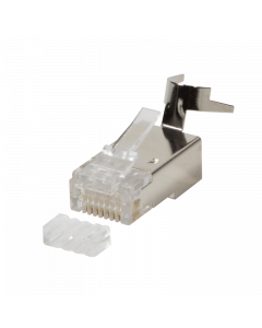 LOGILINK MODULAR PLUG RJ45 FOR CAT7,CAT6A CABLE - 10PCS.