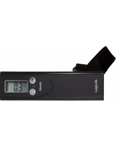 LOGILINK LUGGAGE SCALE - BLACK COLOR