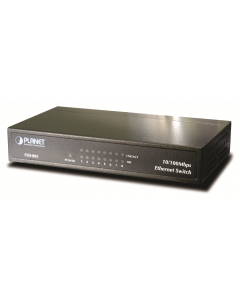 PLANET 8-PORT 10/100MBPS ETHERNET SWITCH