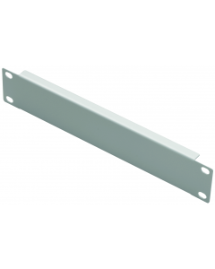 "LOGON 1U 10"" SCREW TYPE BLANK PANEL WHITE"