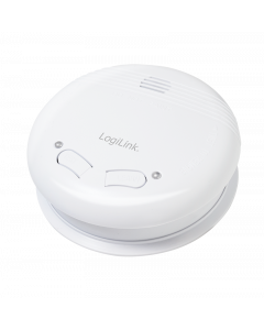 LOGILINK WIRELESS SMOKE ALARM 433MHZ - TWO POWER SOURCE