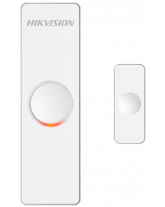 HIKVISION WIRELESS MAGNETIC CONTACT WITH BUTTON BATTERY - 868MHZ