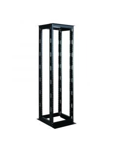 LOGON 42U OPEN SYSTEM DOUBLE FRAME D=660mm BLACK