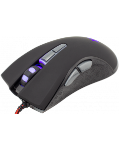 WHITE SHARK MOUSE GM-1601 SPARTACUS BLACK / 4800 DPI