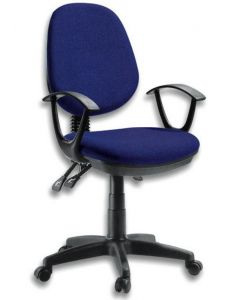 DELUXE OFFICE CHAIR BLUE