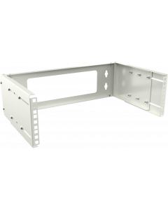 "LOGON 3U ADJUSTABLE DEPTH BRACKET 19"" - WHITE"