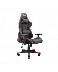 WHITE SHARK GAMING CHAIR RACE TWO BLACK/RED