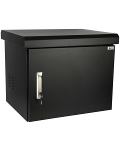 "LOGON 19"" IP66 7U W=600mm D=400mm H=410mm WALLMOUNT BLACK"