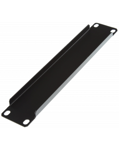 "LOGON 1U 10"" SCREW TYPE BLANK PANEL BLACK"