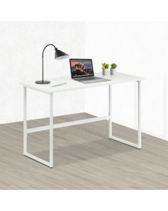TECHLY WHITE COMPUTER DESK