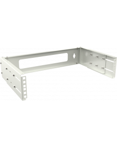 "LOGON 2U ADJUSTABLE DEPTH BRACKET 19"" - WHITE"