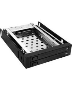"ICY BOX IB-2226Sts 2 BAY 2.5"" SATA MOBILE RACK, TRAYLESS"