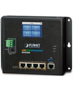 PLANET 4-PORT GIGABIT POE+ INDUSTRIAL POE ROUTER WITH LCD