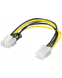 POWER CABLE 6 PIN PCIe to 8 PIN ATX12V ADAPTER