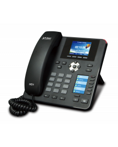 PLANET HIGH DEFINITION COLOR POE IP PHONE WITH DUAL DISPLAY