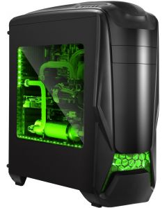GAMMEC GAMING PC CASE ALIEN GREEN