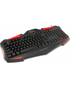 WHITE SHARK KEYBOARD GK-1621 SHOGUN RED