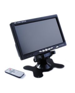 "7"" TFT MONITOR + DC ADAPTOR + CABLES"