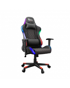 WHITE SHARK GAMING CHAIR THUNDERBOLT WITH LED/REMOTE
