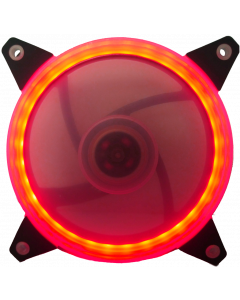 CTESPORTS GRAVITON CASE FAN WITH RED LIGHT RING - 12CM