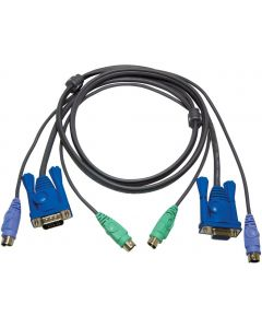 ATEN PS/2 SLIM KVM CABLE - 3M